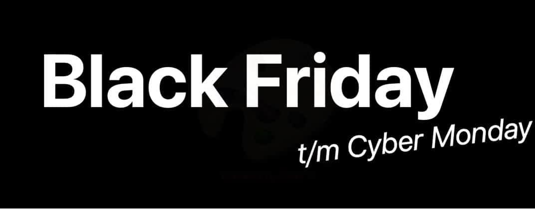 Black Friday Actie / Cyber Monday